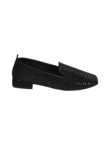 Mhd 323 Platin Kadın Günlük Ayakkabı Siyah